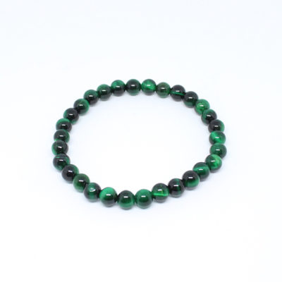 Japamala – pulseira olho de tigre verde